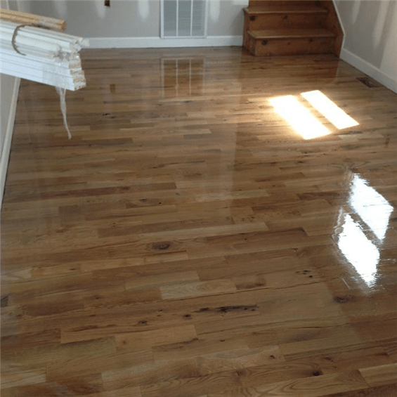 white oak 3 common unfinished solid