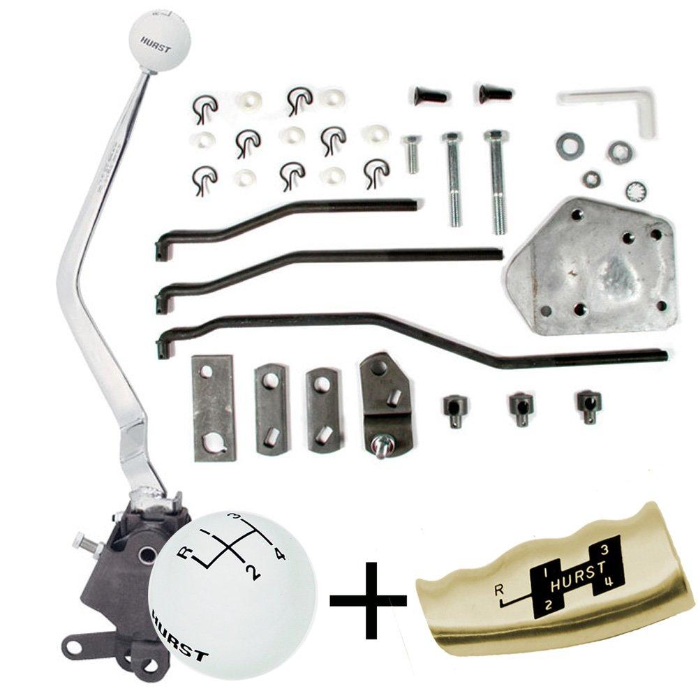 hight resolution of  knob 4 hurst 4 speed shifter diagram hurst comp plus 4 speed shifter kit 65 73