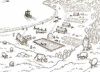 Hurstwic: Farms and Villages in the Viking Age