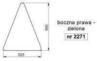 szyba VALTRA VALMET Serie T, TC, TCH, XM, M, X, 6000-8000