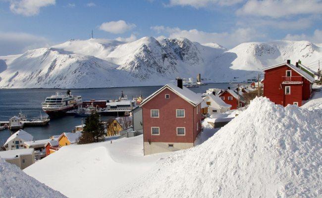 Norway Ports Kjøllefjord Hurtigruten Uk Hurtigruten