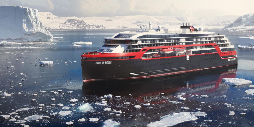 Eco Friendly Cruise Ship - Roald Amundsen