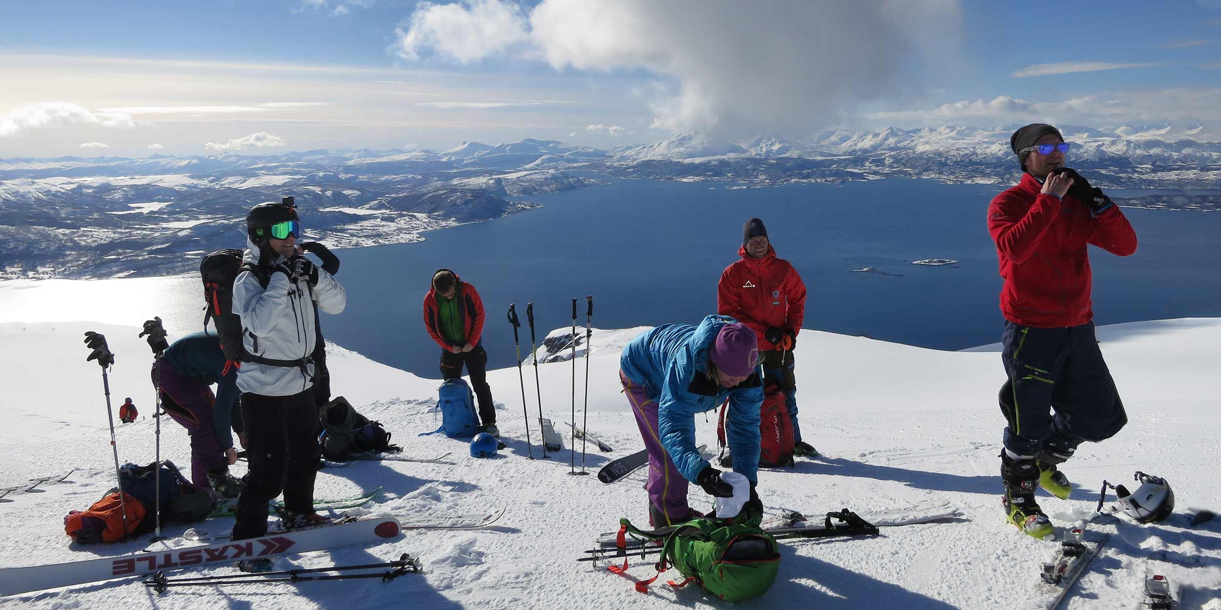 Hurtigruten Arctic Ski & Sail 2018 - Sign