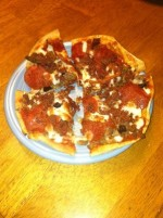 Trim Healthy Mama Style Three Meat Pizza