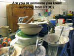 Dishes Anyone?  PTDD
