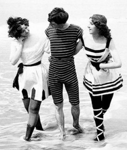 Swimwear of days gone by...