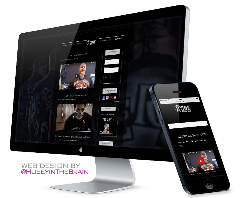 Webdesign for D-ONE
