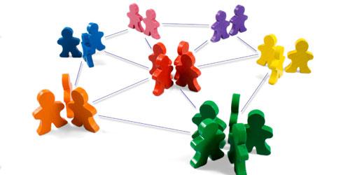 Nätverk av människor