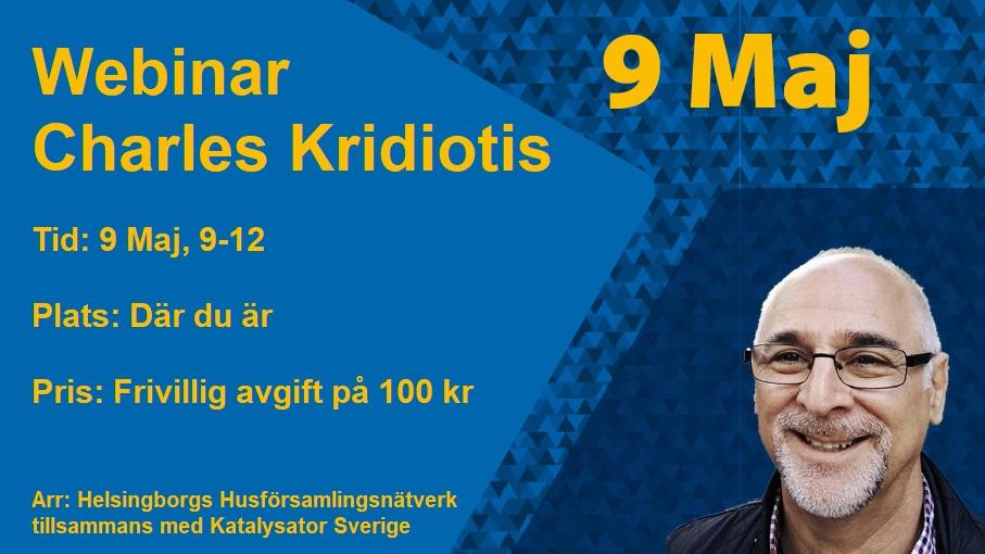 Webinar med Charles Kridiotis