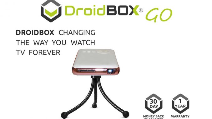 DroidBOX GO DLP Projector Mini Android Home Cinema Theater
