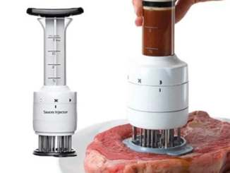 Steak Tenderizer Sauce Injector Stainless Steel Needle
