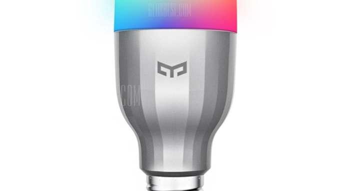 Xiaomi Yeelight AC220V RGBW E27 Smart LED Bulb
