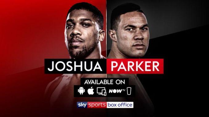 Joshua vs Parker live stream