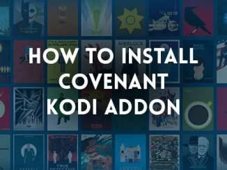 Covenant Kodi Addon - How to Install Covenant on Kodi?