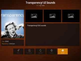 Transparency! UI Sounds Addon Guide