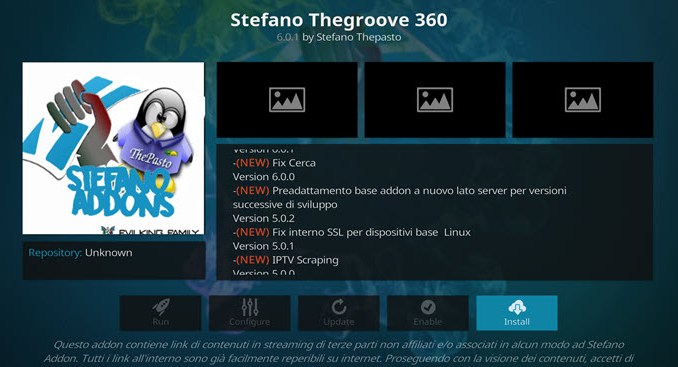 Stefano TheGroove 360 Addon Guide