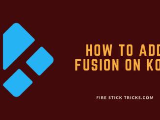 How to install Fusion Kodi Addon Installer on 17.6 Krypton [2018]