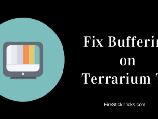 How to Fix Terrarium TV Buffering Issues