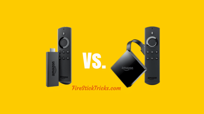 Amazon Fire TV vs. Fire Stick: What Should You Buy?