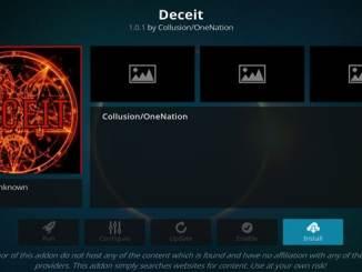 Deceit Addon Guide - Kodi Reviews