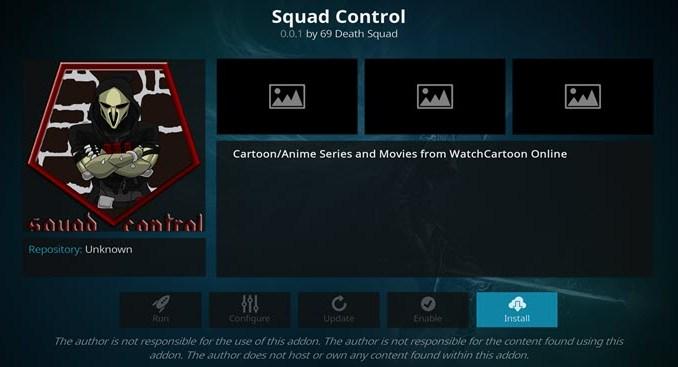 Squad Control Addon Guide - Kodi Reviews