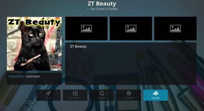 ZT Beauty Addon Guide - Kodi Reviews