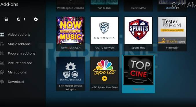 Top Cine Addon Guide - Kodi Reviews