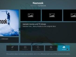 How to Install Nanook Addon on Kodi 17.6 Krypton