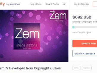 Lack of Funds Forces ZemTV Developer to Back Out of Lawsuit