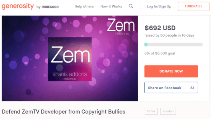 Lack of Funds Forces ZemTV Developer to Back Out of Lawsuit