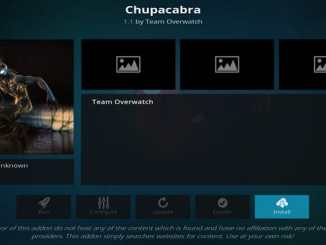 Chupacabra Addon Guide - Kodi Reviews
