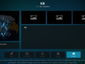 KB Addon Guide - Kodi Reviews