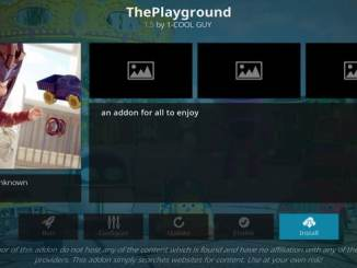 Playground Addon Guide - Kodi Reviews