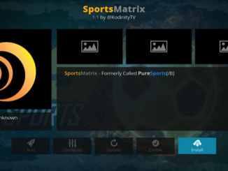 SportsMatrix Addon Guide - Kodi Reviews