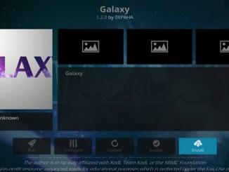 Galaxy Addon Guide - Kodi Reviews