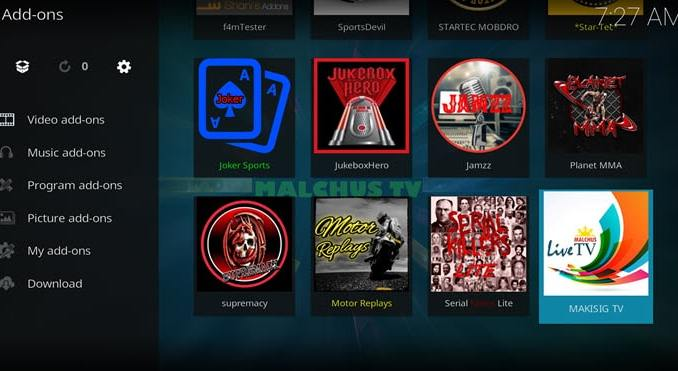 Makisig TV Addon Guide - Kodi Reviews