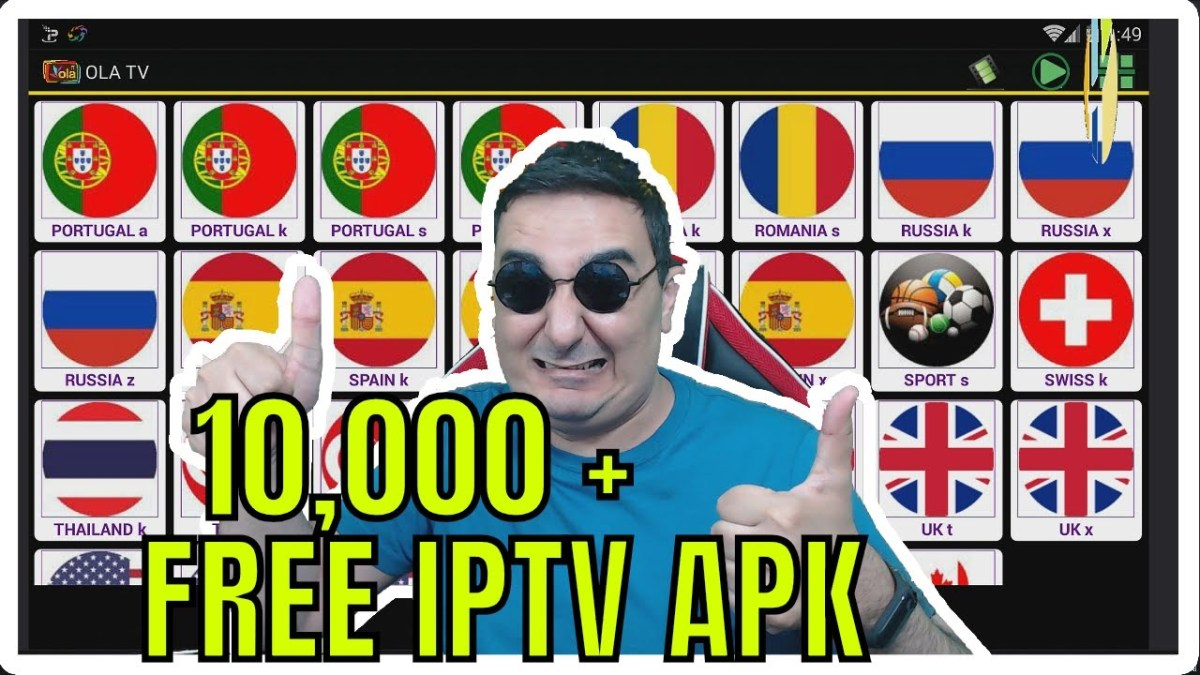 🔴10000 FREE IPTV CHANNELS WITH OLA TV APK - NO KODI NEEDED