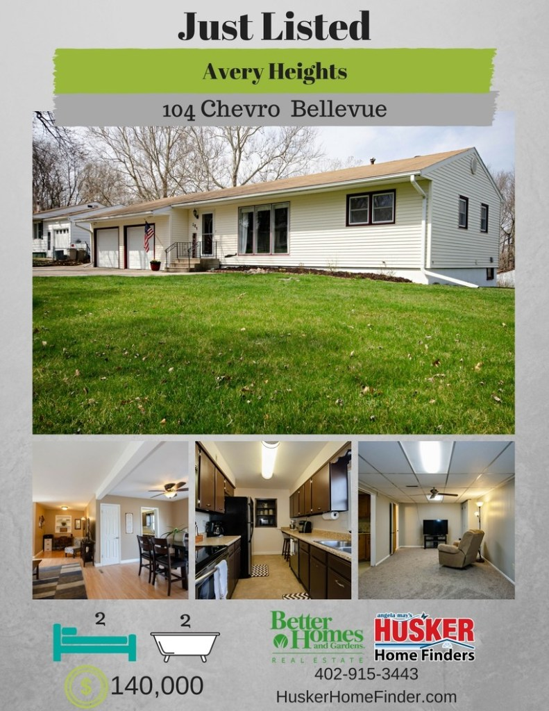 Husker Home Finder 109 Chevro Lane Bellevue