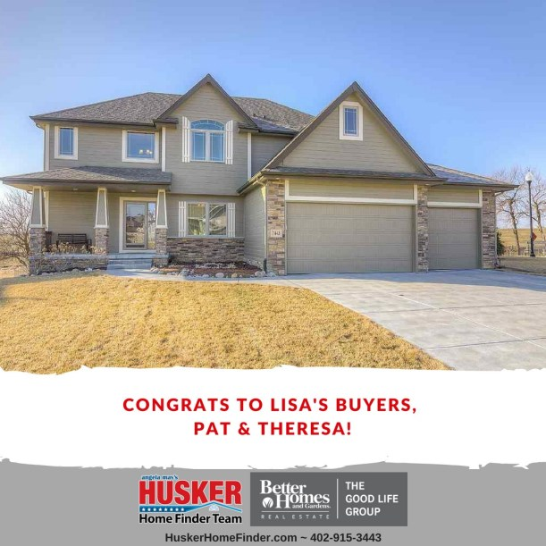 Husker Home Finder SOLD 7443 Leawood St. Papillion NE