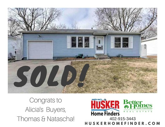 SOLD Husker Home Finders 7444 James Ave LaVista NE