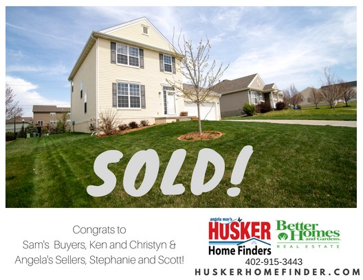 Sold Husker Home Finder Team Key and Sterling