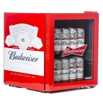 Red Budweiser Drinks Cooler