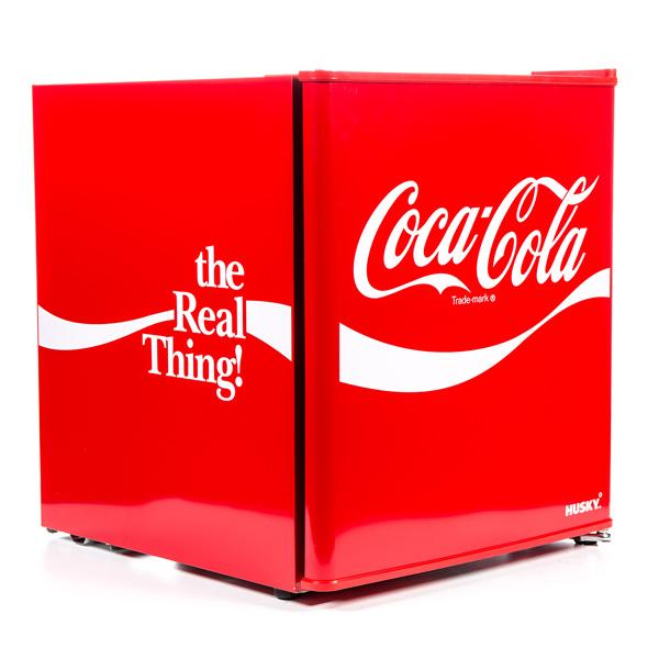 HUS-HU252 Coca-Cola Mini Fridge