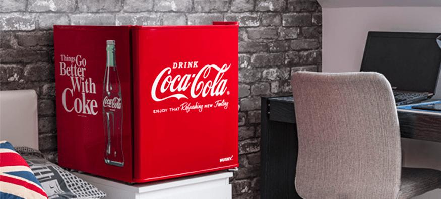 Husky Coca-Cola Mini Fridge