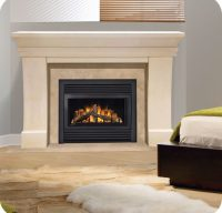 Continental CDV33 Gas Fireplace: Direct Venting Gas ...
