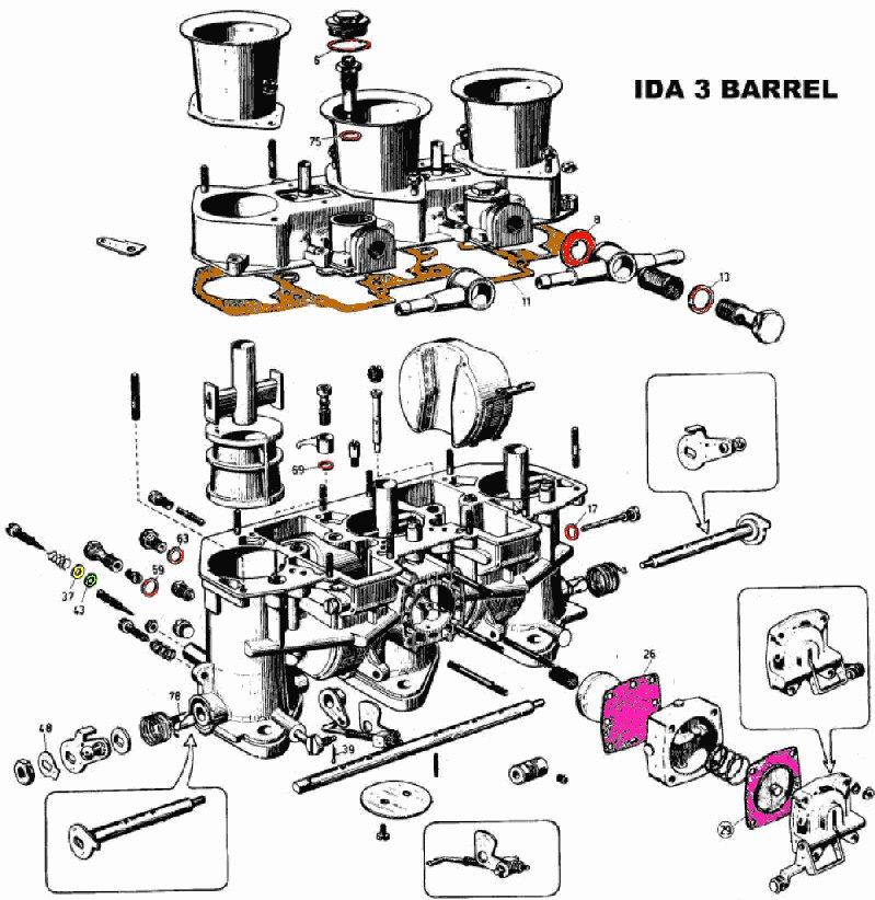 Weber 44 Idf Parts Diagram, Weber, Free Engine Image For