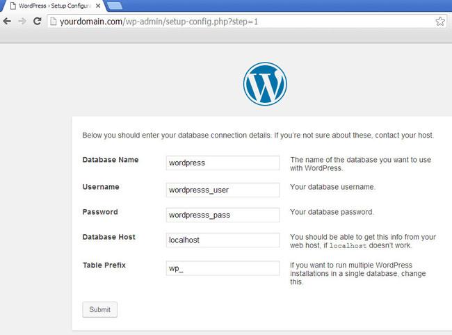wordpress wp-admin2
