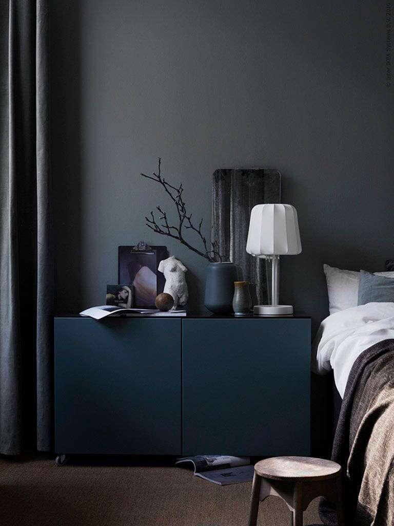 Mörkt sovrum hos Livet hemma – Husligheter