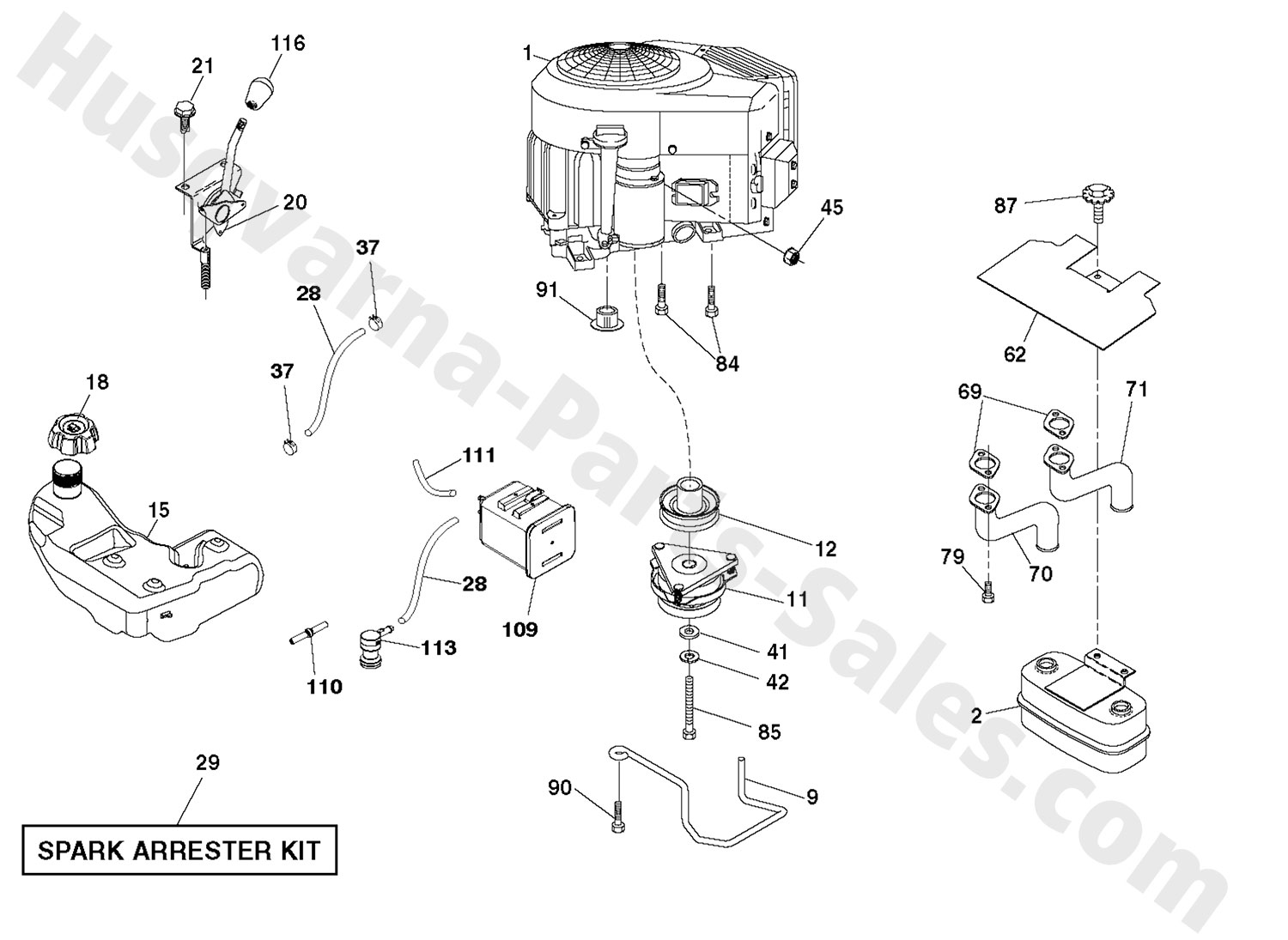 Riding Mower Engine Diagram : 27 Wiring Diagram Images