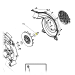 Husqvarna Assembly FLYWHEEL FENGLONG P021 575635502